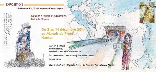 MQ Kerlédé invit expo Isabelle Flourac 10 2014.indd