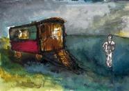 La roulotte - Isabelle Flourac