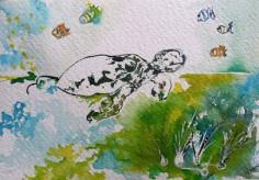 La tortue - Isabelle Flourac