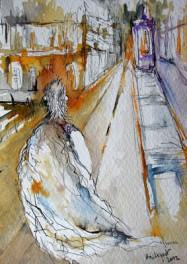 L'homme à la couverture- Isabelle Flourac
