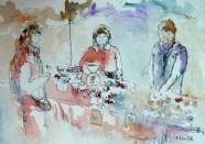 Le marché d'Irkoutsk - Isabelle Flourac