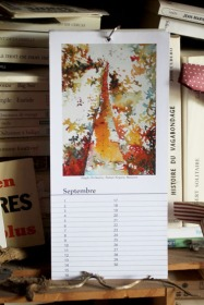 Septembre - Calendrier perpétuel des arbres