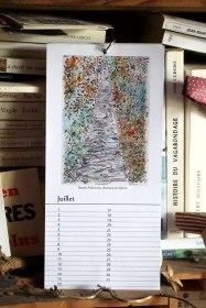 Juillet - Calendrier perpétuel des arbres