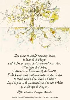 L'arbre et la pirogue, Isabelle Flourac