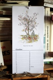Octobre - Calendrier perpétuel des arbres