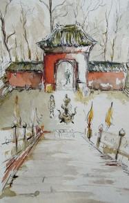 Wudang Shan, encres de Chine