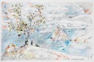 Le lac Baïkal : arbre à voeux et rocher au chaman