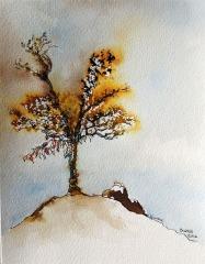 L'arbre à voeux - Isabelle Flourac