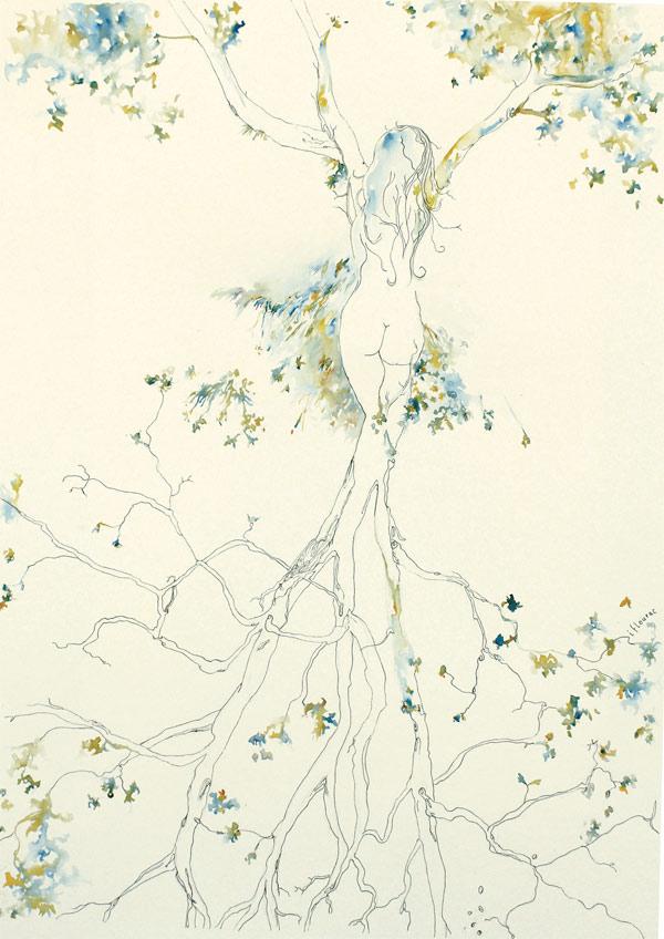 L'arbre de vie - Isabelle Flourac