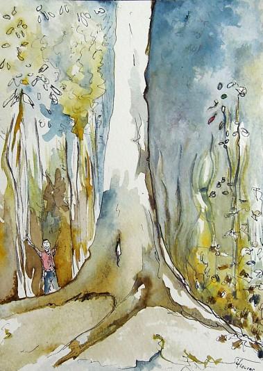 L'arbre infini - Isabelle Flourac