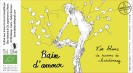 Bain d'amour - Etiquette de vin - Isabelle Flourac