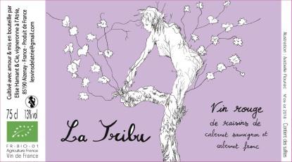 La Tribu - Etiquette de vin - Isabelle Flourac