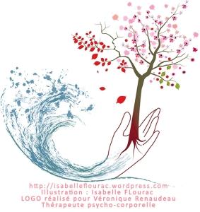 Logo Munia Ki pour Véronique Renaudeau - Illustration Isabelle Flourac graphisme